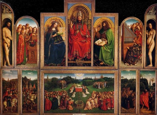 Jan & Hubert van Eyck, Retable de L'Agneau Mystique